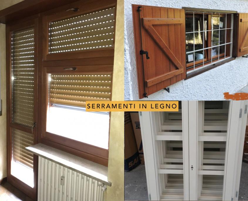 Gozzi: Serramenti in legno Torino